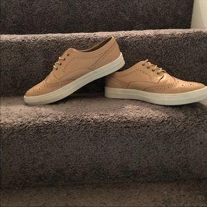 JustFab 12M Wilma Spectator Sneaker Dusty Rose